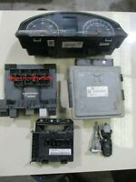 Genuine 2007 VW GOLF GT TDI 2.L DIESEL 05~08 ECU AND LOCK SET 1K0920874
