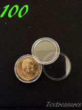 100 AIRTITE-A26 AIRTIGHT CAPSULE DIRECT FIT For Presidential Dollar