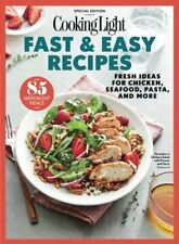 Cooking Light Magazine Special - FAST & EASY RECIPES (2017) NEW - FREE SHIP!