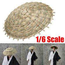 1:6 Scale Lifelike Hat Model Bamboo Hat For Japanese Samurai Hot Toy ↻