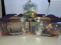 Minecraft Dungeons Nameless One & Hal Action Figure & Redstone Illager w/ Extra