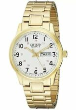 Citizen Mens Quartz Watch with Stretch Expandable Bracelet BF0612-95A