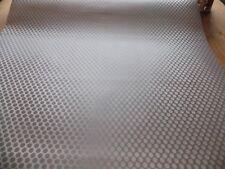 1.5mX67.5cm STEEL METALLIC SILVER CIRCLE STICKY BACK PLASTIC SELF ADHESIVE VINYL