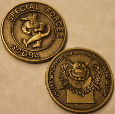 Special Forces Scuba Bronze Army Challenge Coin