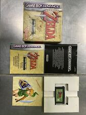 THE LEGEND OF ZELDA A LINK TO THE PAST FOUR SWORDS GAME BOY ADVANCE FR COMPLET