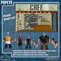 Mezco  Popeye 5 POINTS 3.75 inch action figure Deluxe Boxed Set PRESALE