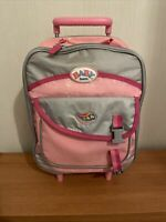 ZAPF CREATIONS BABY BORN SUITCASE WITH EXTENDABLE HANDLE