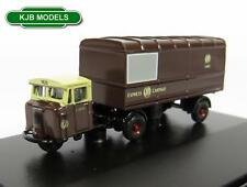 BNIB N GAUGE OXFORD DIECAST 1:148 NMH011 GWR SCAMMELL MECHANICAL HORSE VAN TRAIL