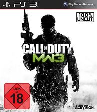 PS3 / Sony Playstation 3 Spiel - Call of Duty: Modern Warfare 3 (mit OVP)(USK18)