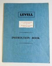 Levell Voltmeters TM3 and TM6 Instruction Book