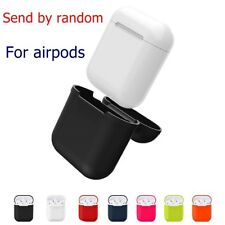 Silicone Case for Iphone AirPod Headphone Protective Case cover+Anti Lost String