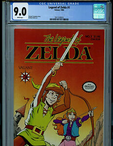 Legend of Zelda #1 CGC 9.0 Nintendo Valiant Comics 1990 Amricons Z7