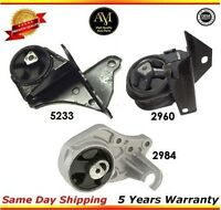 DEA//TTPA A2813 Engine Mount Rear Right fits for 89-95 Taurus 100/% All New