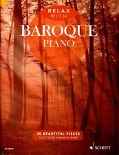 Relax with Baroque Piano - Klavier Noten - ED13849 - 9781847613974