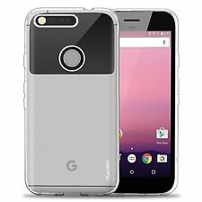 Google Pixel Crystal Clear Ultra Slim Scratch Resistant Soft Case Cover (E172)