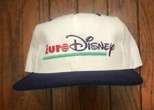 Vintage 90s Euro Walt Disney Snapback Hat Baseball Cap * USA Made