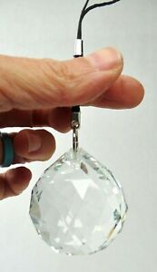 Egyptian Crystal Suncatcher Seven Chakra Healing Mediation Reiki Tool 90 grams