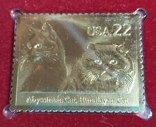 New listing Cats Abyssinian Himalayan 1988 Fdoi Collectible Stamp New York City Ny Sealed