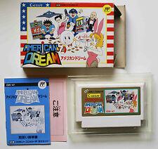 AMERICAN DREAM sur Nintendo FAMICOM NES CDS-A7