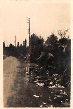 Franz. Rückzugstrasse bei Charleville Frankreich