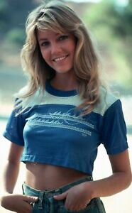 HEATHER LOCKLEAR (HALF TOP) POSTER 24 X 36 Inches Looks beautiful