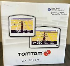 "NEW TomTom GO 2505M Car GPS Set LIFETIME USA/Canada/Mexico MAPS Edition 5"" LCD"