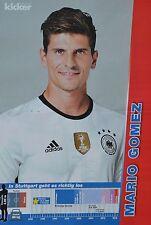 MARIO GOMEZ - A3 Poster (ca. 42 x 28 cm) - Fußball EM 2016 Clippings Sammlung