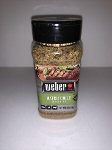 Weber Hatch Chile Seasoning Gluten Free 8.75 OZ Ounce 248 g NIP New