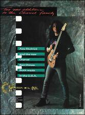 Testament Alex Skolnick 1995 Charvel San Dimas guitar ad 8 x 11 advertisement
