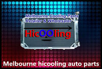 3 Rows Aluminum Radiator for GQ PATROL Y60 4.2L Petrol TB42S TB42E 1987-1997 MT