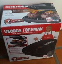 Brand New George Forman 2-Serving Classic Plate Grill and Panini Press GR10B