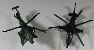 Maisto RAH-66 Comanche & KA-52 Alligator Diecast Military Helicopters 1:87