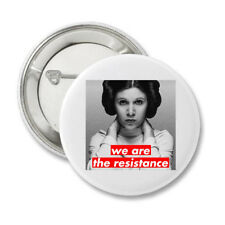 We are the Resistance Princess Leia Protest Resist Button