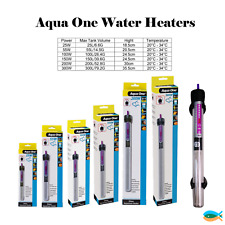 Aqua One Submersible Glass Aquarium Fish Tank Heater