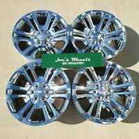"GM 22"" Sierra Denali Yukon Factory Silverado OEM Chrome Wheels CHEVY CK158 Tahoe"