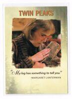 2018 Rittenhouse Twin Peaks Quotable #Q6 Margaret Lanterman Log Lady