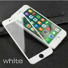 Genuine Tempered Glass Screen Protector 3D Full Cover Edge Apple Iphone 8 WHITE