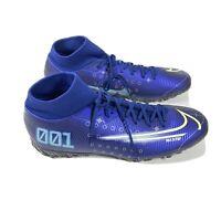 Nike Mercurial Super-fly 7 Elite TF Cleats Indoor Soccer Shoes BQ5471-401 Men's