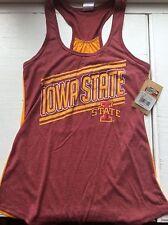 NEW Iowa State University Cyclones Juniors Womens Tank Top Shirt ISU Razorback