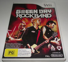 Green Day RockBand Nintendo Wii PAL *Complete* Wii U Compatible