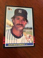 1985 Donruss Don Mattingly #295 Baseball Card