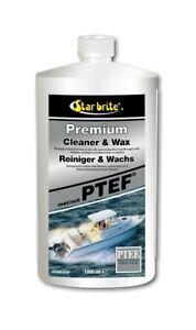 Star brite Premium Reiniger & Wachs 1000ml Boot Bootswax 89632DG-A