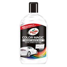 NEW Turtle Wax WHITE Color Magic Car Polish Clean Shine Restore Scratches 52712