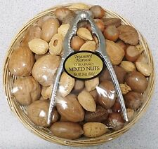 In Shell Mixed Nuts Gift Basket with Nut Cracker - Treasured Harvest Brand