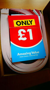 Retail Promotion Display Pack.SALE Stickers/Banners/Posters etc. Huge Amount