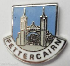 Fettercairn Aberdeenshire Scotland Small Crest Pin Badge (0573)