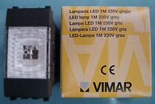 VIMAR 20381 Eikon Lampada LED 1M grigio scuro antracite