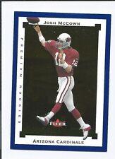 2002 Fleer Premium JOSH McCOWN RC  (BEARS)  #0082/1250