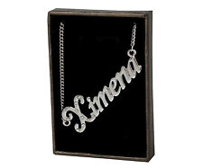 """Name Necklace """"XIMENA"""" –18K Gold Plated 