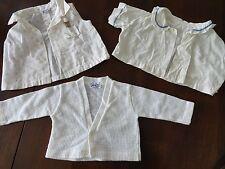 Vintage 1950's Toddle Tyke Doe Spun Baby Boy's Shirts Sz 6 - 9 Mo. - 3 pcs